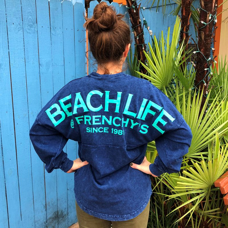 Beachlife Denim Spirit Jerset [back model]
