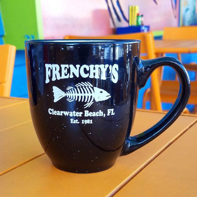 Frenchys – Mug with Flecks in BLACK