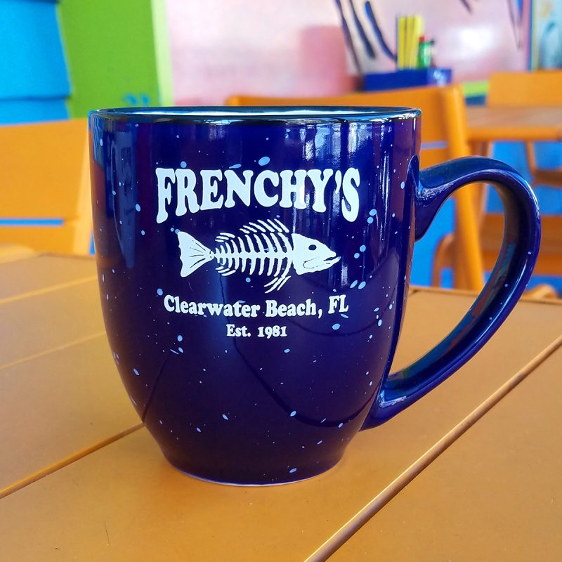 Frenchys – Mug with Flecks in COBALT