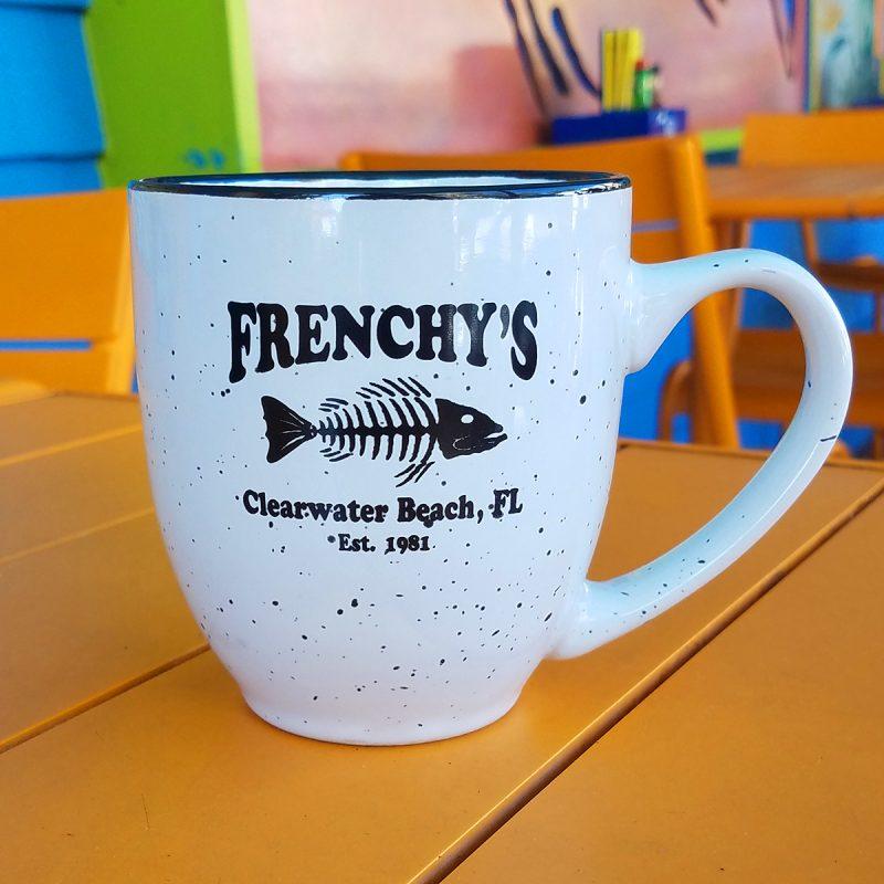 Frenchys – Mug with Flecks in WHITE