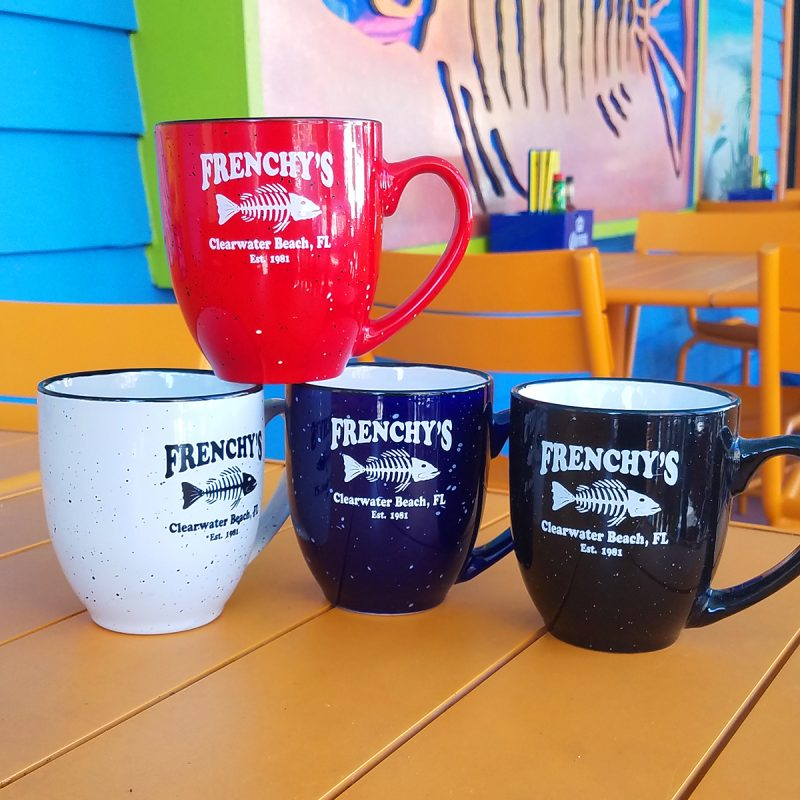 Frenchys – Mugs with Flecks [all colors]