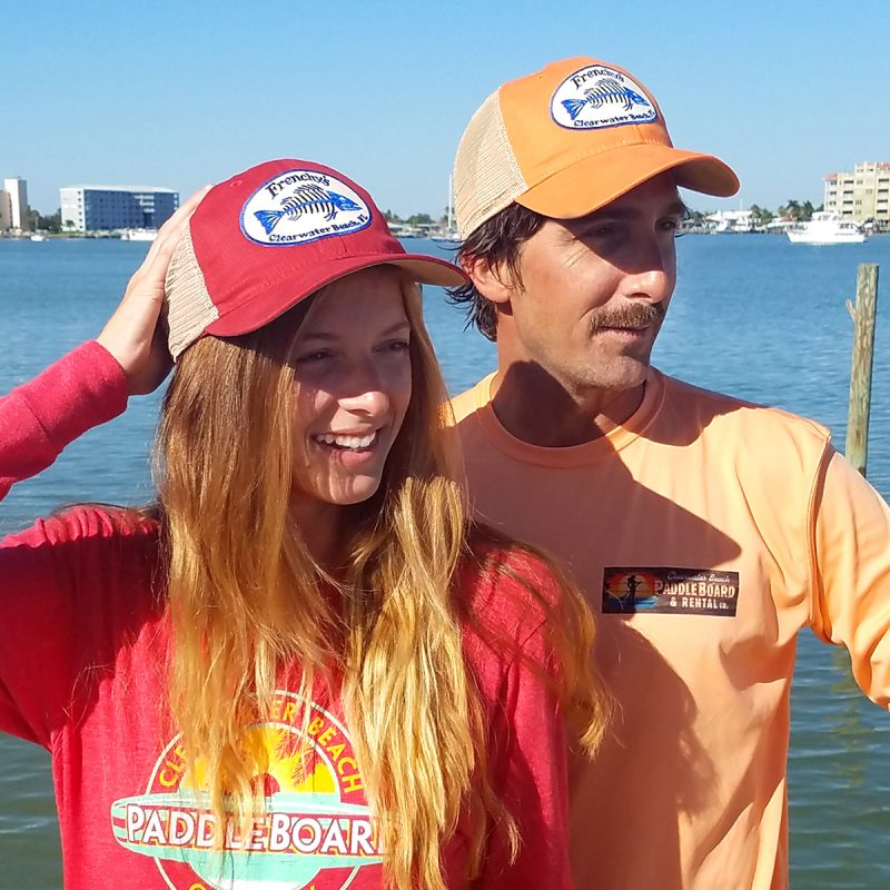 Frenchy's – Snap back Trucker Hats Models FRONT