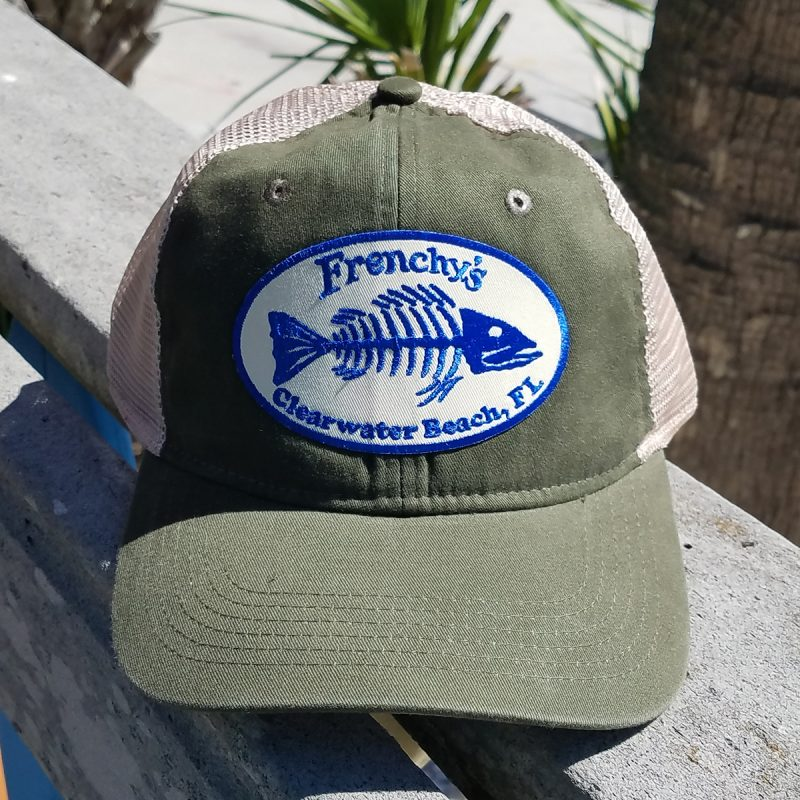 Frenchys – Snap back Trucker OLIVE