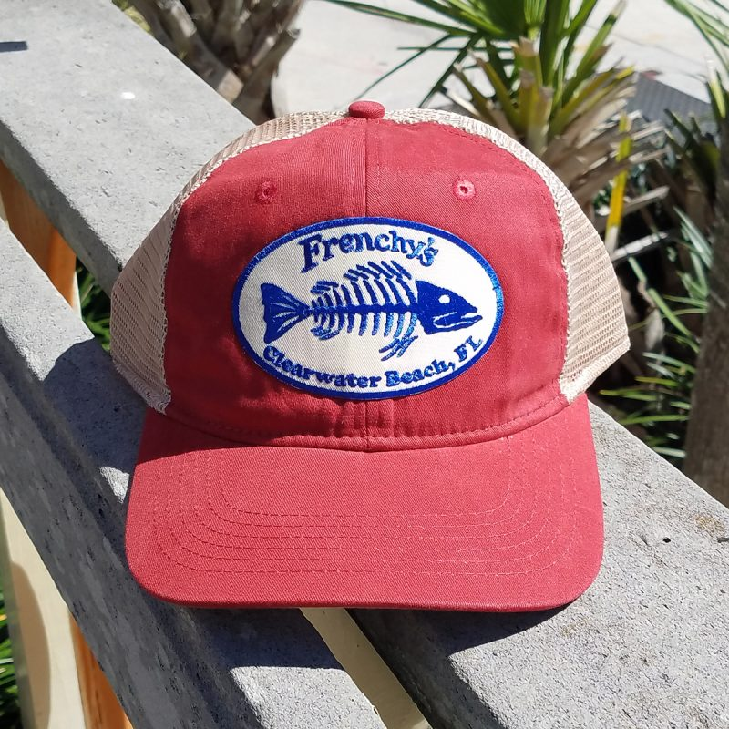 Frenchys – Snap back Trucker RED