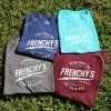 Frenchy's Bamboo Blend Raglan Tee - AVAILABLE COLORS