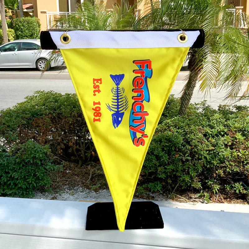 Frenchy's Burgee Flag