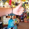 Frenchys Chico-Bag Reusable Tote [on wrist]