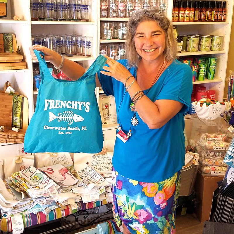 Frenchys Chico-Bag Reusable Tote [with model]