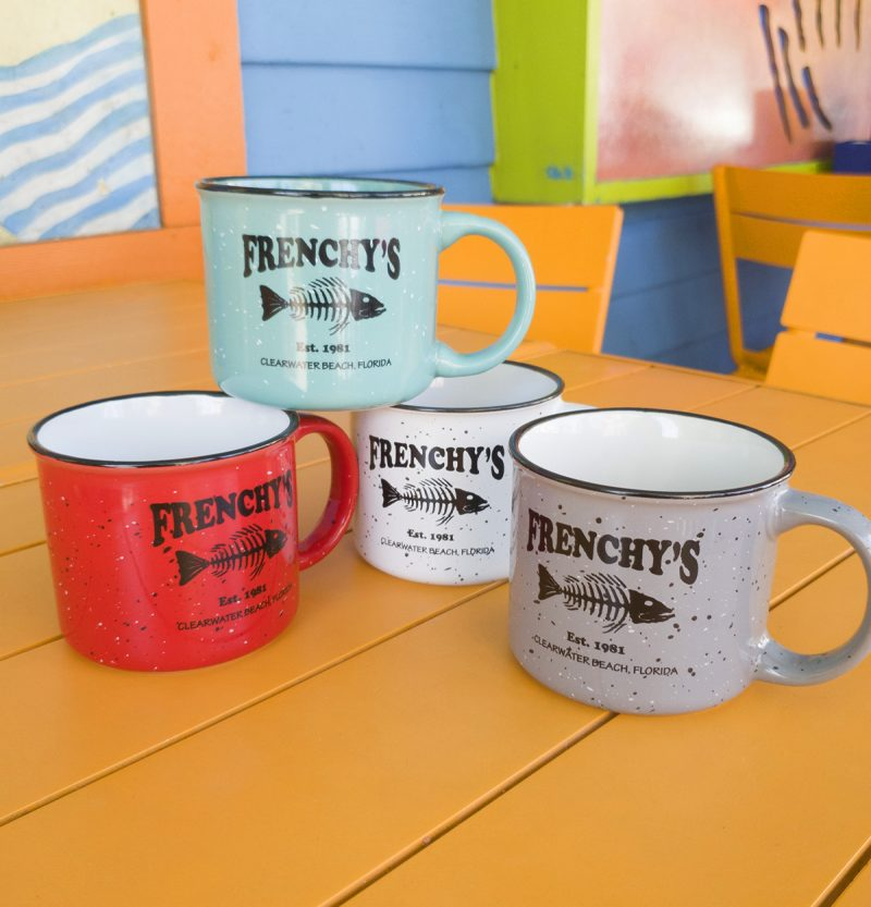 Frenchy's Fish Bones Campfire Mugs - Available Colors