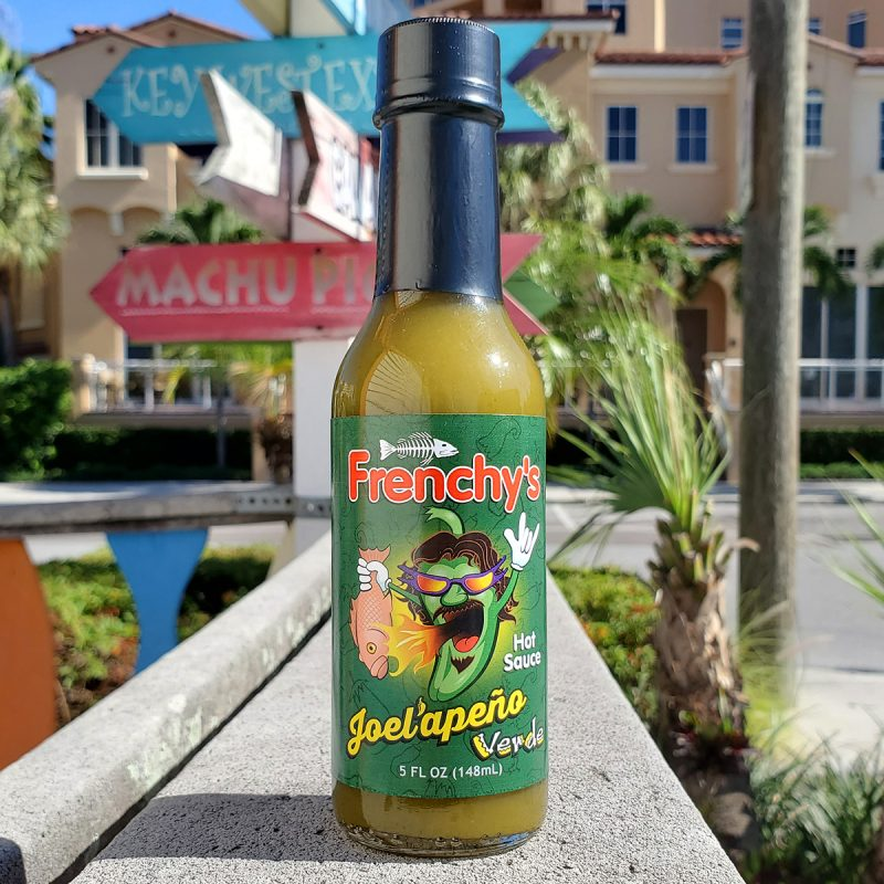 Frenchy's Hot Sauce - Single bottle of Joel'apeno Verde Hot Sauce