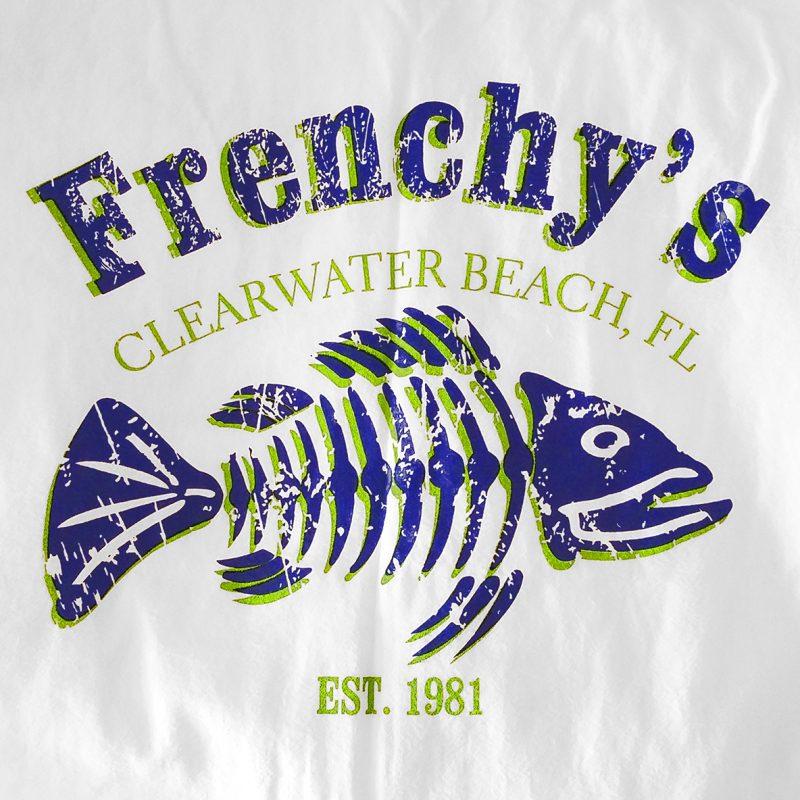 Frenchys Lightweight Jacket - Back Print
