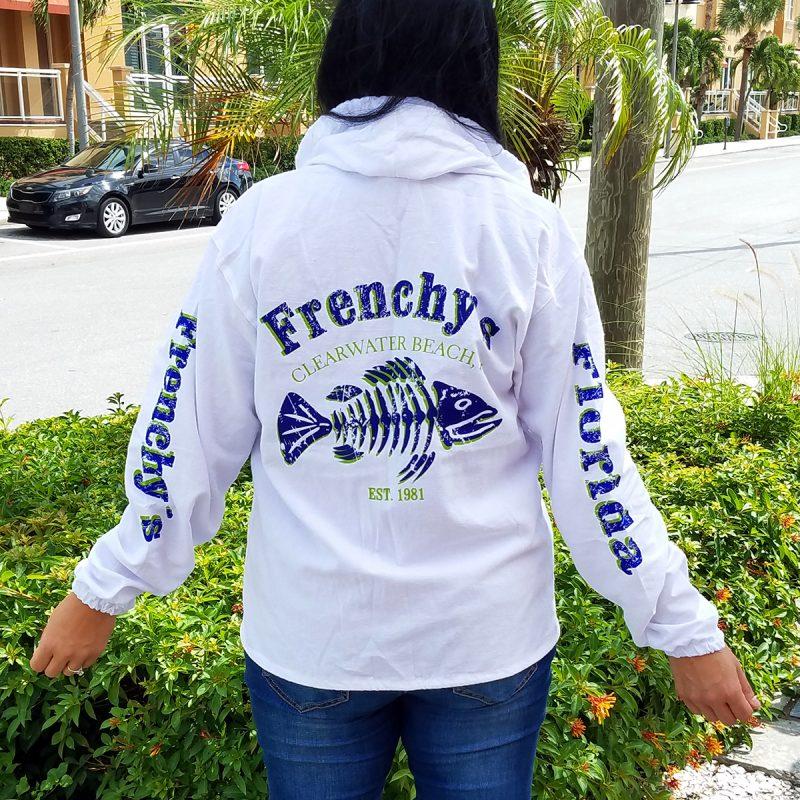 Frenchys Lightweight Jacket - Model back