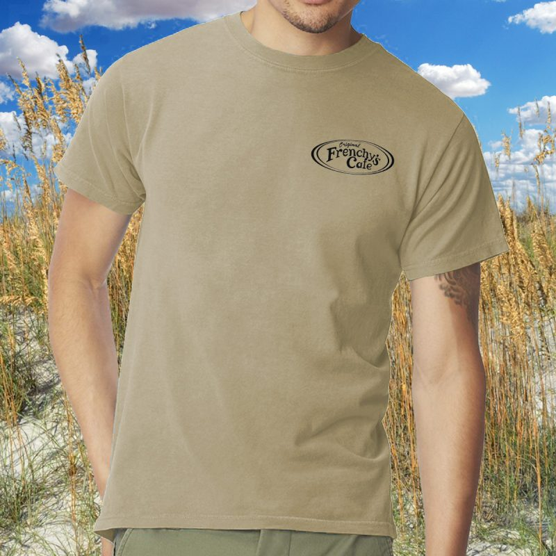 Frenchys Original Cafe Tee - Front Chest MODEL