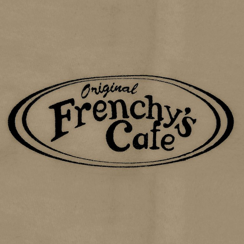 Frenchys Original Cafe Tee - Front Chest PRINT