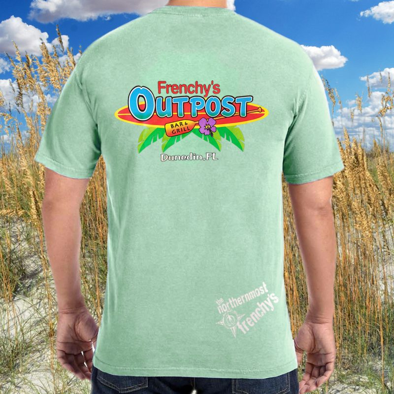 Frenchys Outpost Bar -n- Grill T-shirt [back]