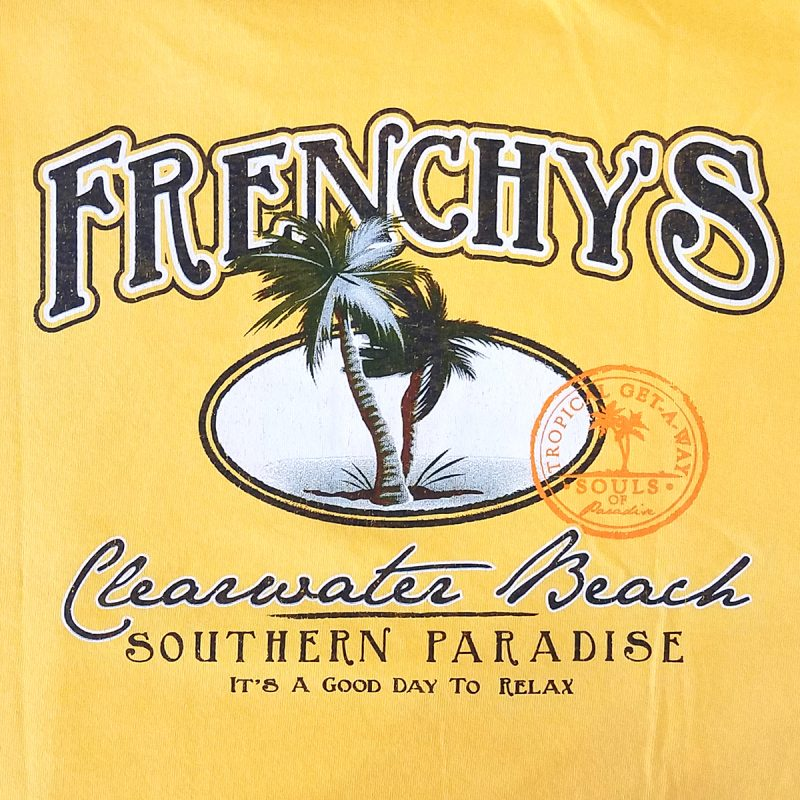Frenchys Paradise T-Shirt [Back Print]
