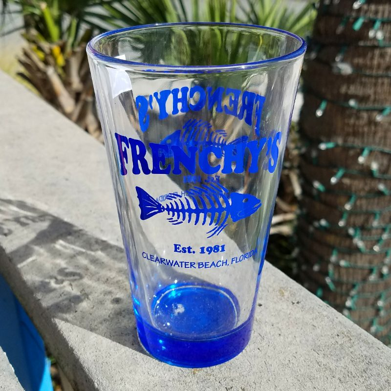 Frenchy's Pint Glass [Blue]