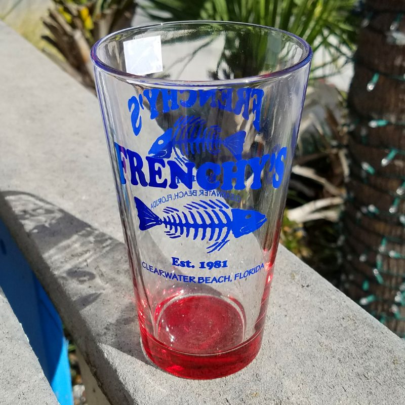Frenchy's Pint Glass [Red]