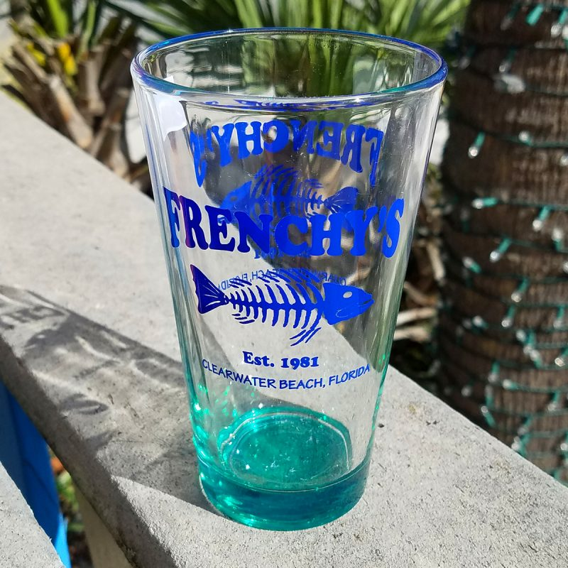 Frenchy's Pint Glass [Teal]
