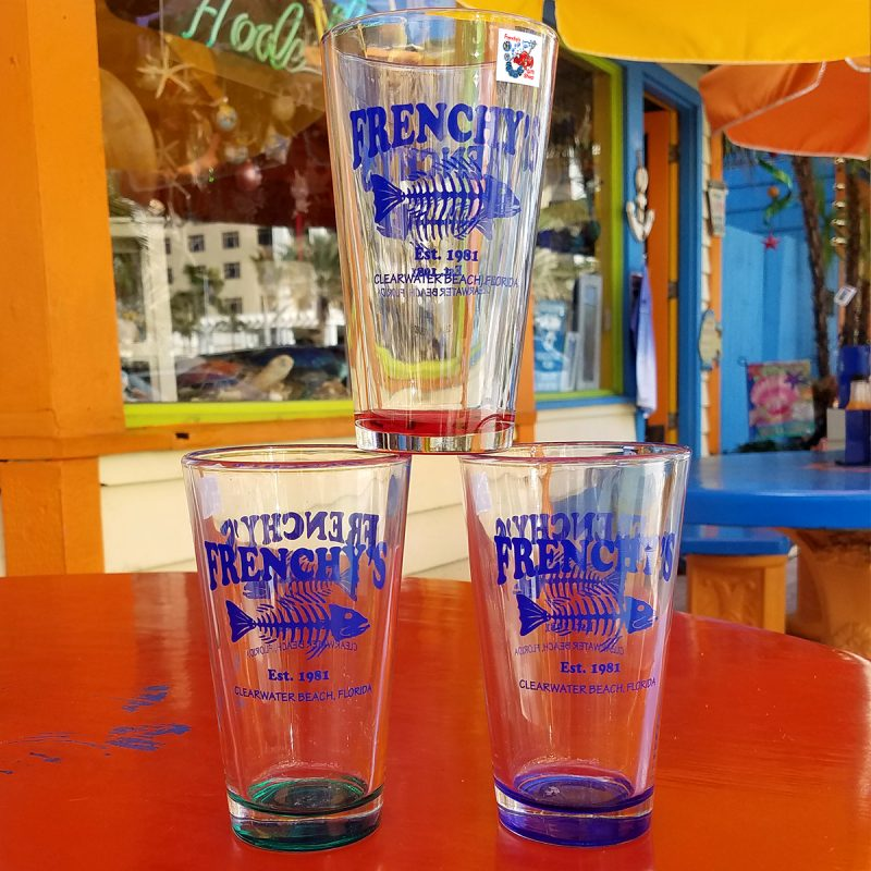 Frenchy's Pint Glass [all colors]
