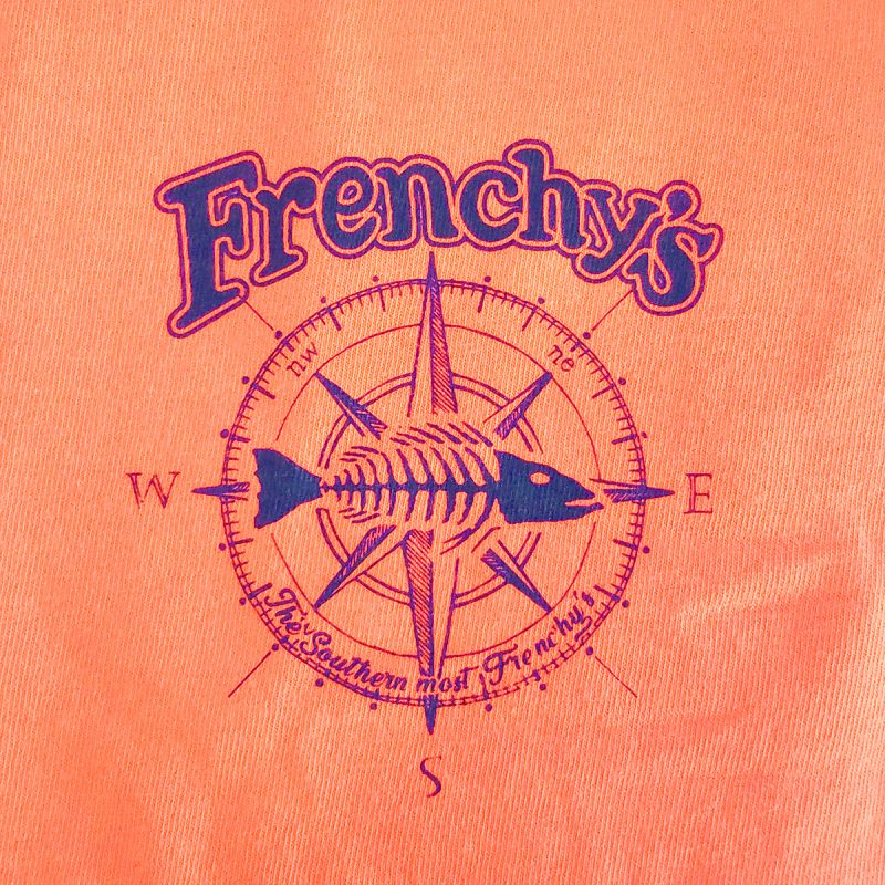Frenchys South Beach Cafe T-Shirt [left chest print]