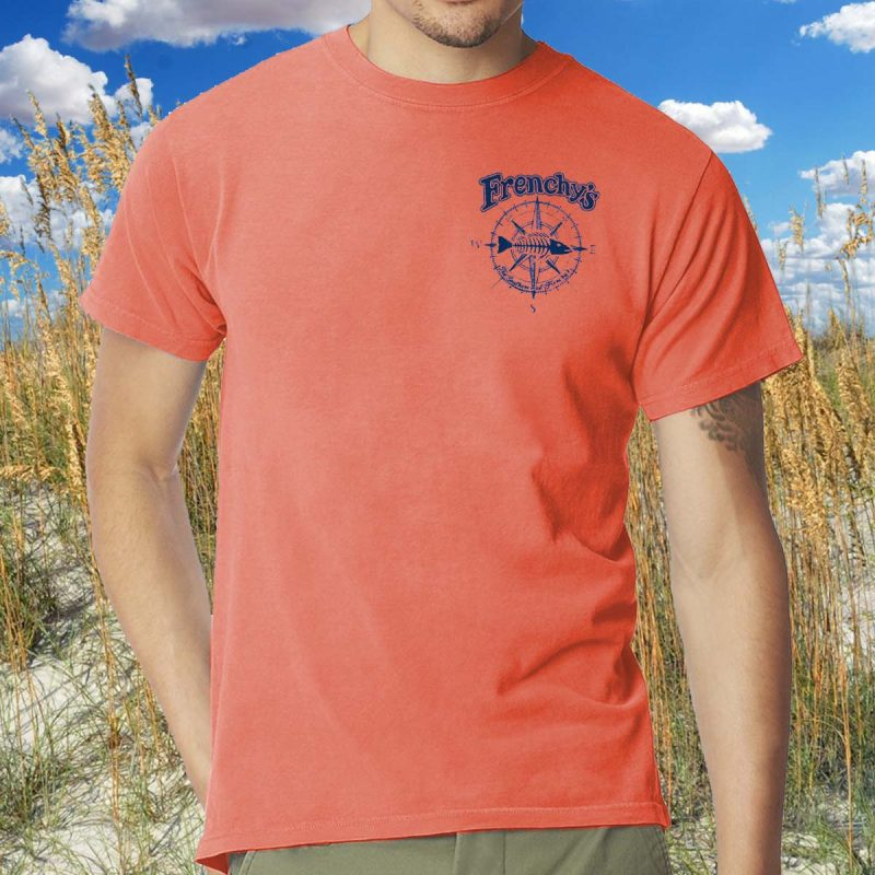 Frenchys South Beach Cafe T-Shirt [model front]