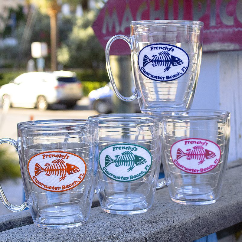 Frenchy's Tervis 16 oz. Mugs ALL COLORS
