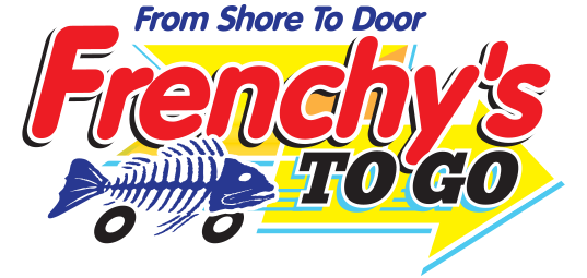 Frenchy's To Go LOGO 537 pixels wide - for light background