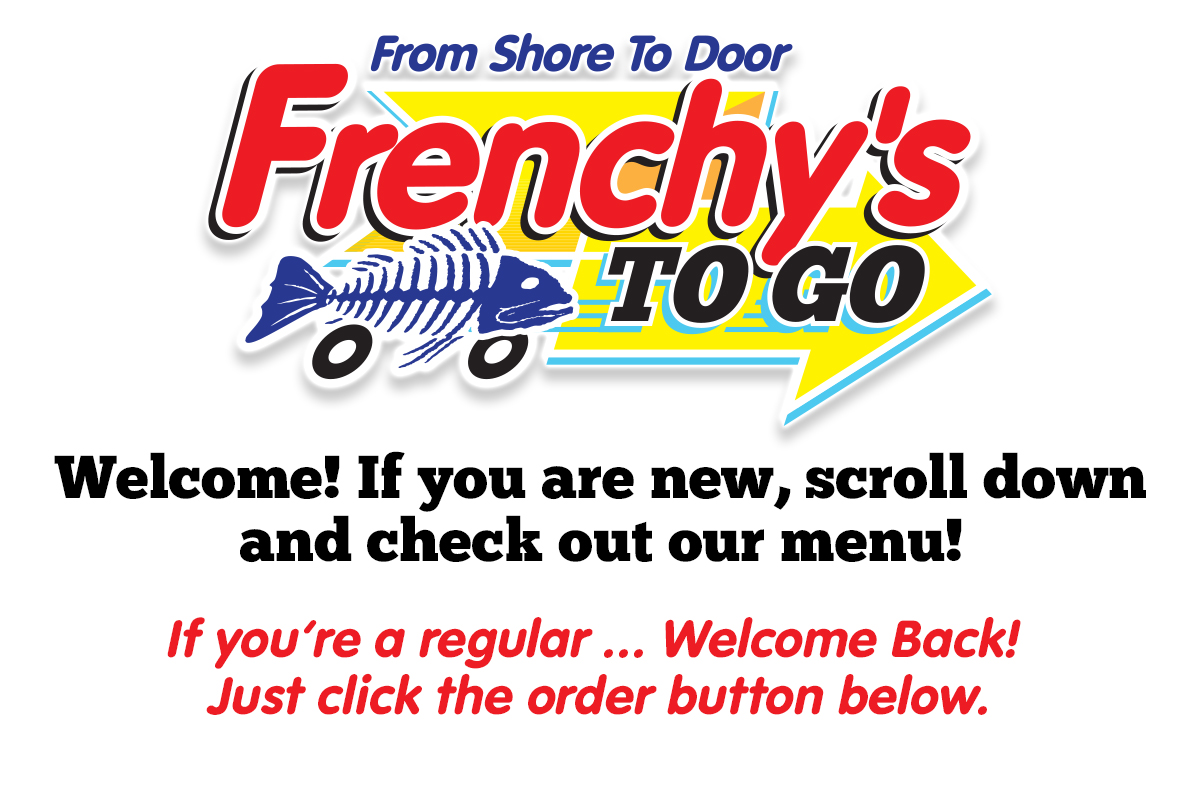 Frenchy's To Go Landing Page HEADER