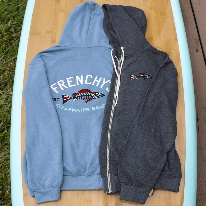 Frenchy's Zip-Up Hooded Sweats BOTH COLORS