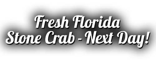 Fresh Florida Stone Crab - Next Day