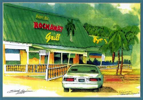 Frenchy's Rockaway Grill Print