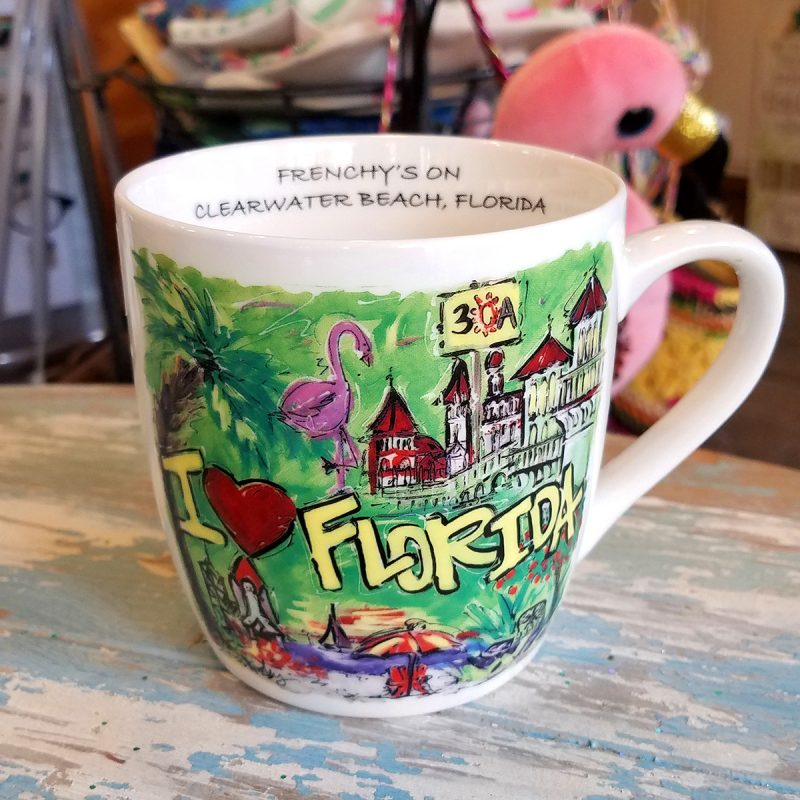 I Love Florida - One for the Road Mug [Right Handed View]