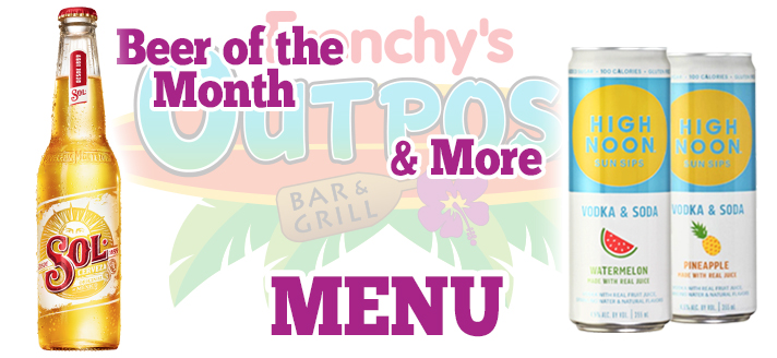 Menu Header Image for FRENCHYS OUTPOST BAR and GRILL Specials AUGUST