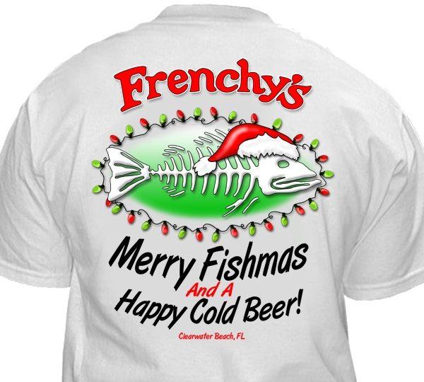 Frenchy's Merry Fishmas shirt