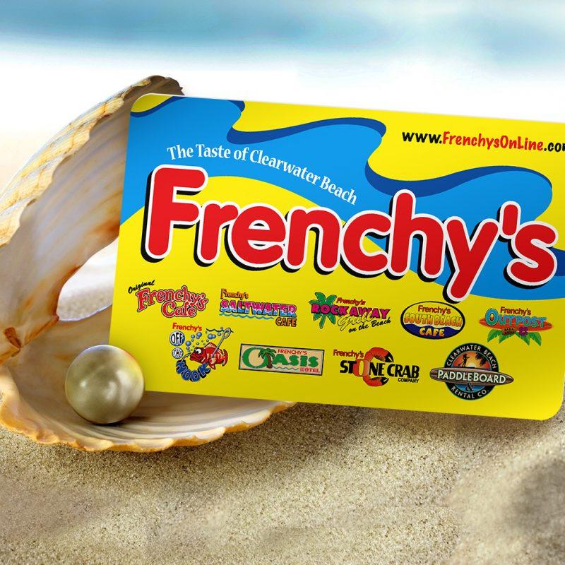 Frenchy's Gift CardsHolidayCustom Value Gift Card