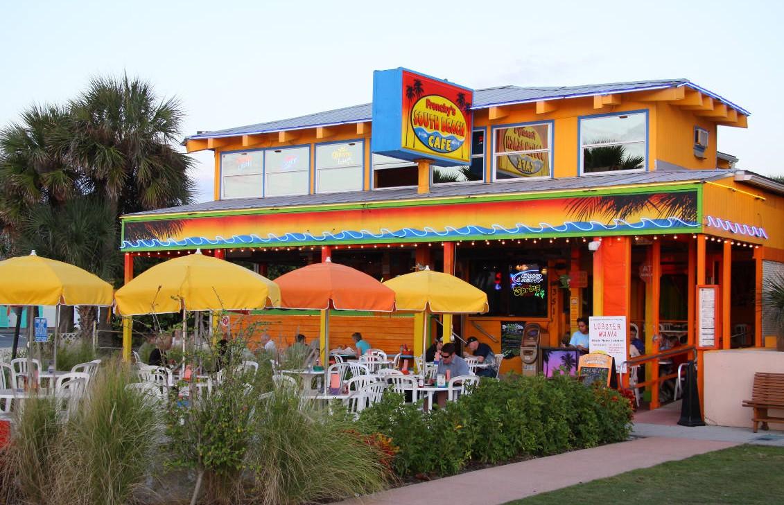 Frenchy S South Beach Cafe Menu